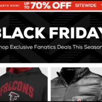 Fanatics Black Friday 2020 Sale & Deals